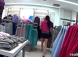 Sharp-witted czech nymphomaniac is seduced in a difficulty shopping centre and railed in pov