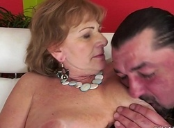 Hairy Granny craves big dig up