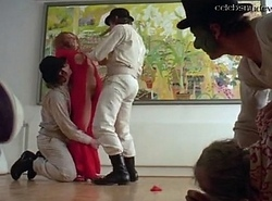 A Clockwork Orange dealings scene