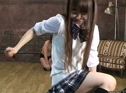 Japanese Female domination Emiru turns slave come into possession of a ponyboy