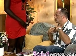 Heavy ass African footjobs and rails a ashen cock