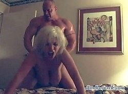 Bush-league Video For Saggy Titty Prostitute Claudia Marie