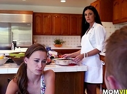 Stepmom India Summer seducing stepdaughter Kacy Allude