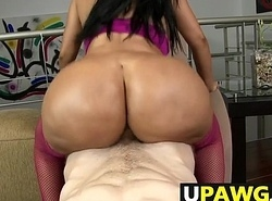 Obese Botheration Babe Cielo Shaking The Dick